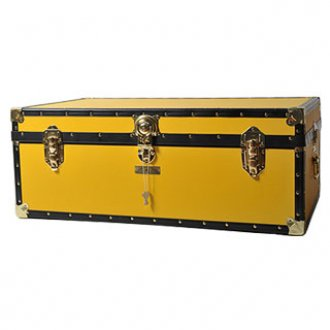 Yellow Steamer Trunk from Cambridge Satchel Company