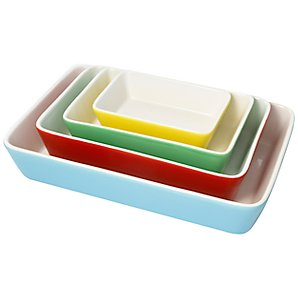 Set of 4 Cath Kidston casserole dishes