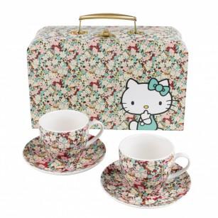 Hello Kitty at Liberty Tea Cup Set