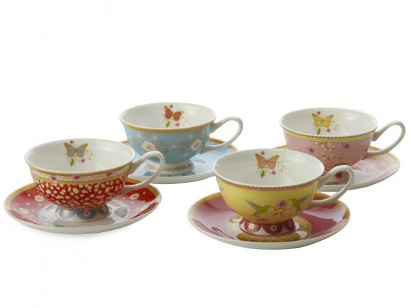 Enchante Cup & Saucer Gift Set. £39.99