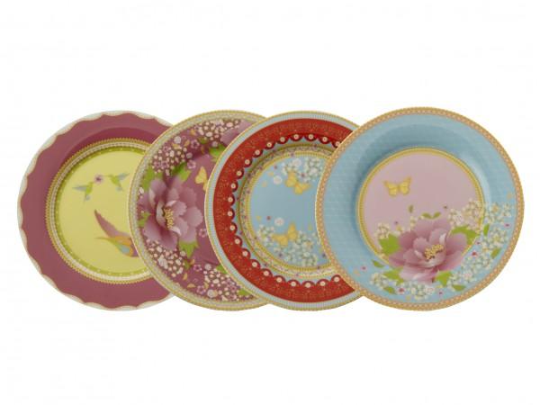 Enchante Set of 4 China Plates. £24.99