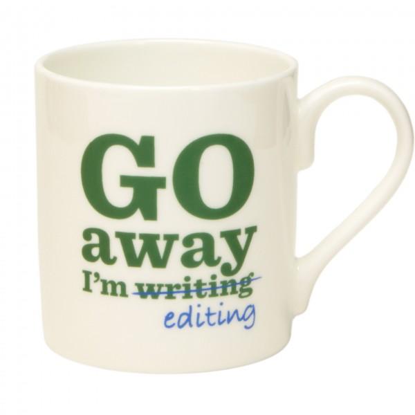 Go Away I'm Editing Mug. £9.95