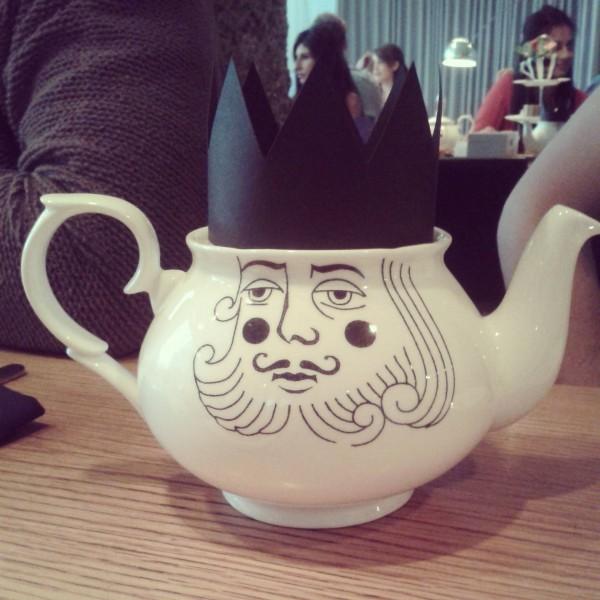 Luna and Curious Tea Pot