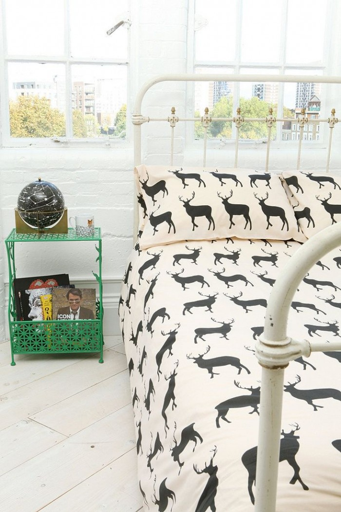Anorak Stag Double Duvet From Urban Outfitters