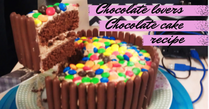 Blogging1 e1414265666356 Chocolate Lovers Dream Chocolate Cake Recipe