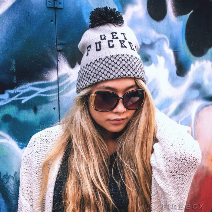 Get F*cked Beanie from Firebox