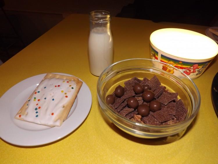 Brinner at Cereal Killer Cafe