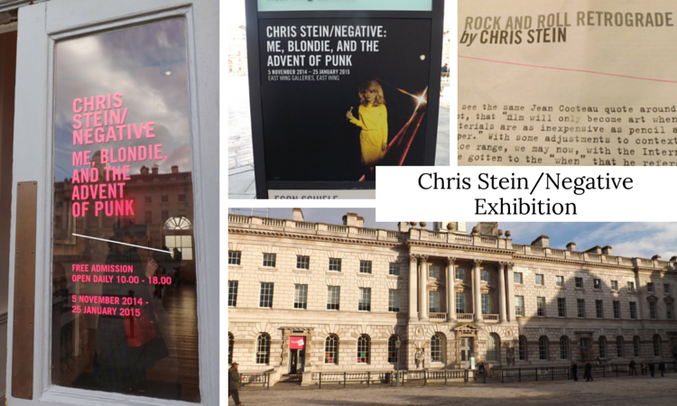 Chris Stein Exhibition Somerset House
