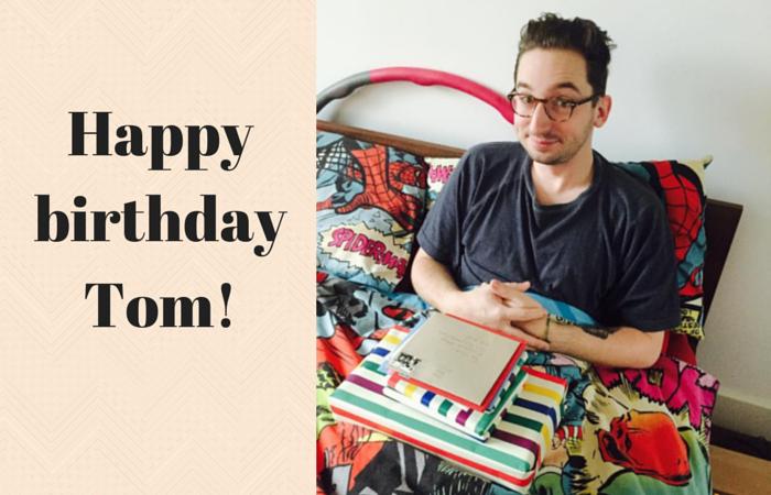 Happy birthday Tom #BEDM