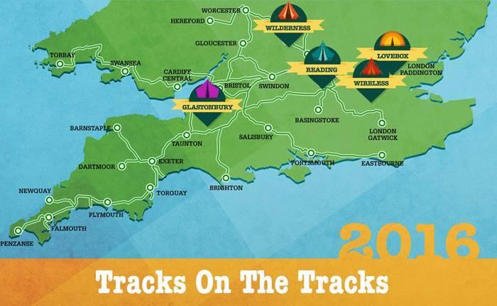 Festival Tracks On The Tracks