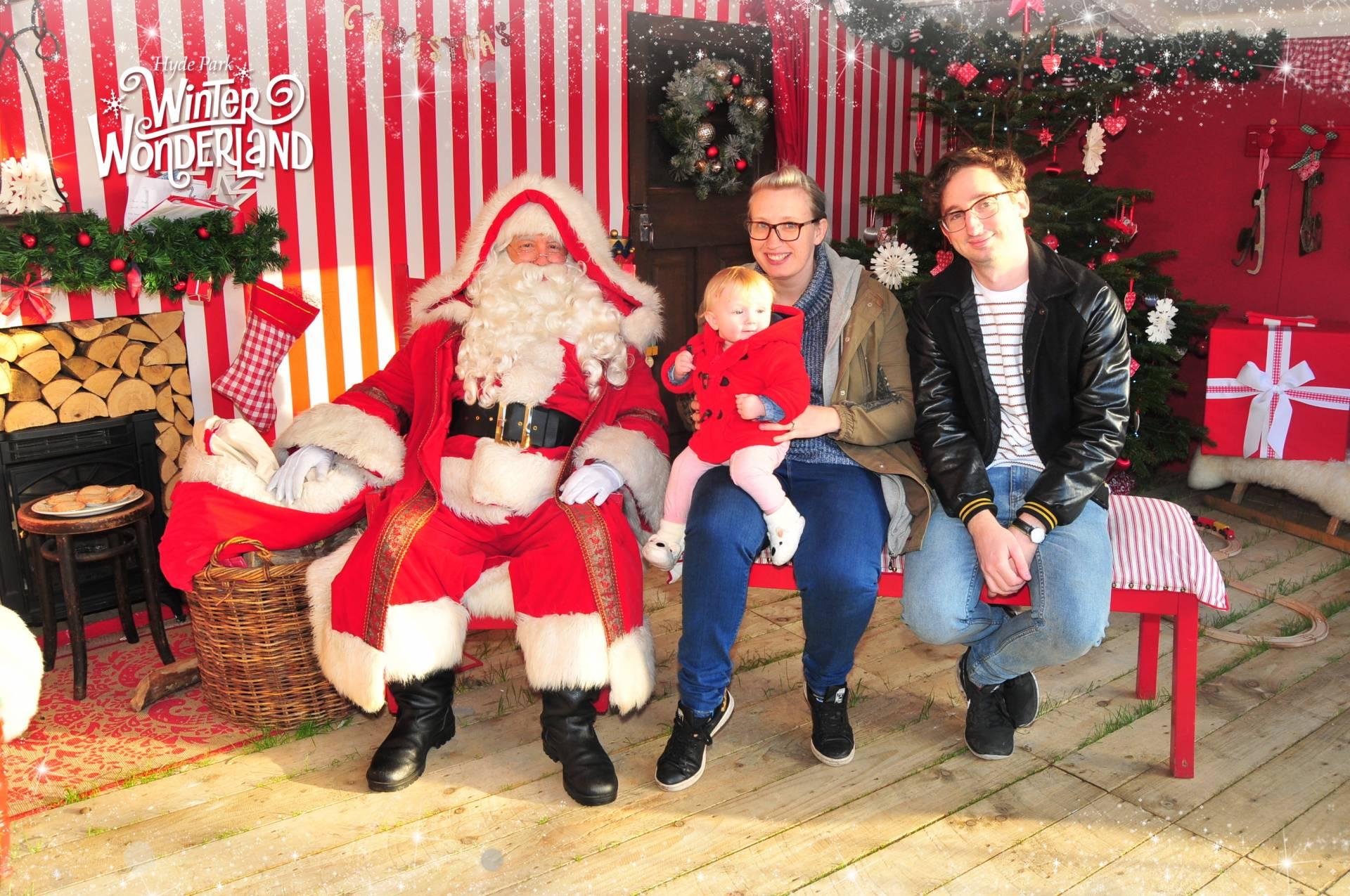 us and santa at winterwonderland
