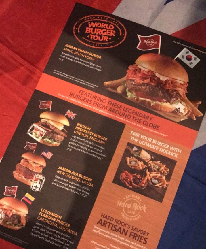 World Burger Tour - Lojovstheworld