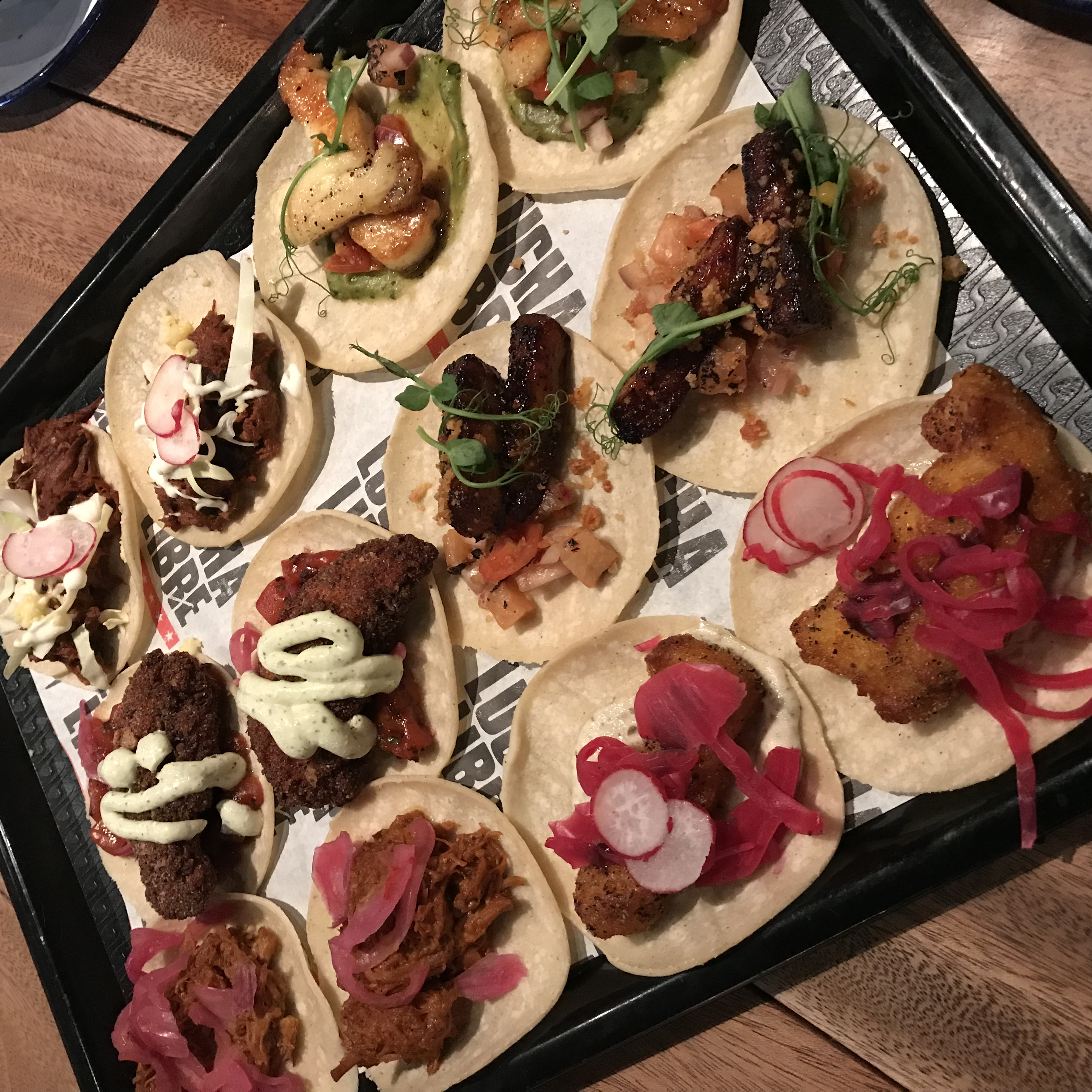 Tacos at Lucha Libre