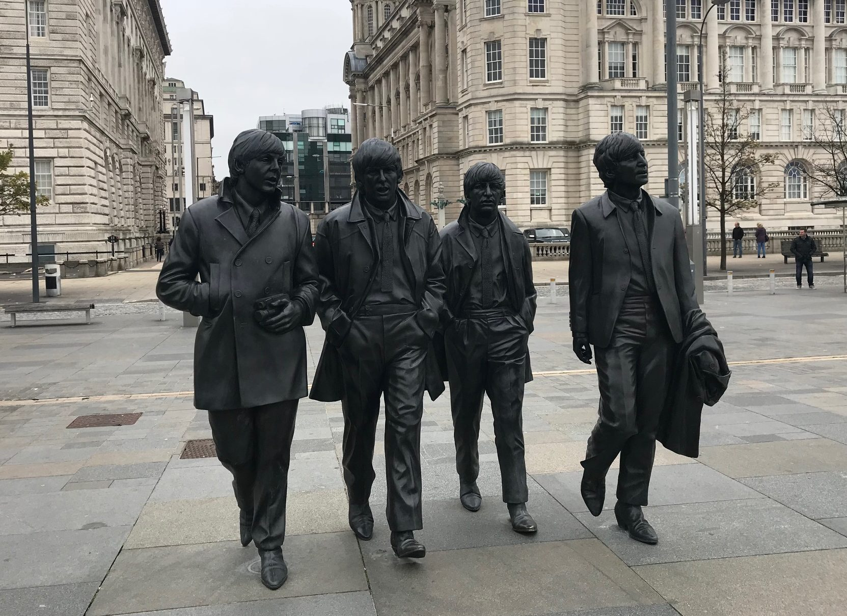 The Beatles in Liverpool by Lojo Vs The World