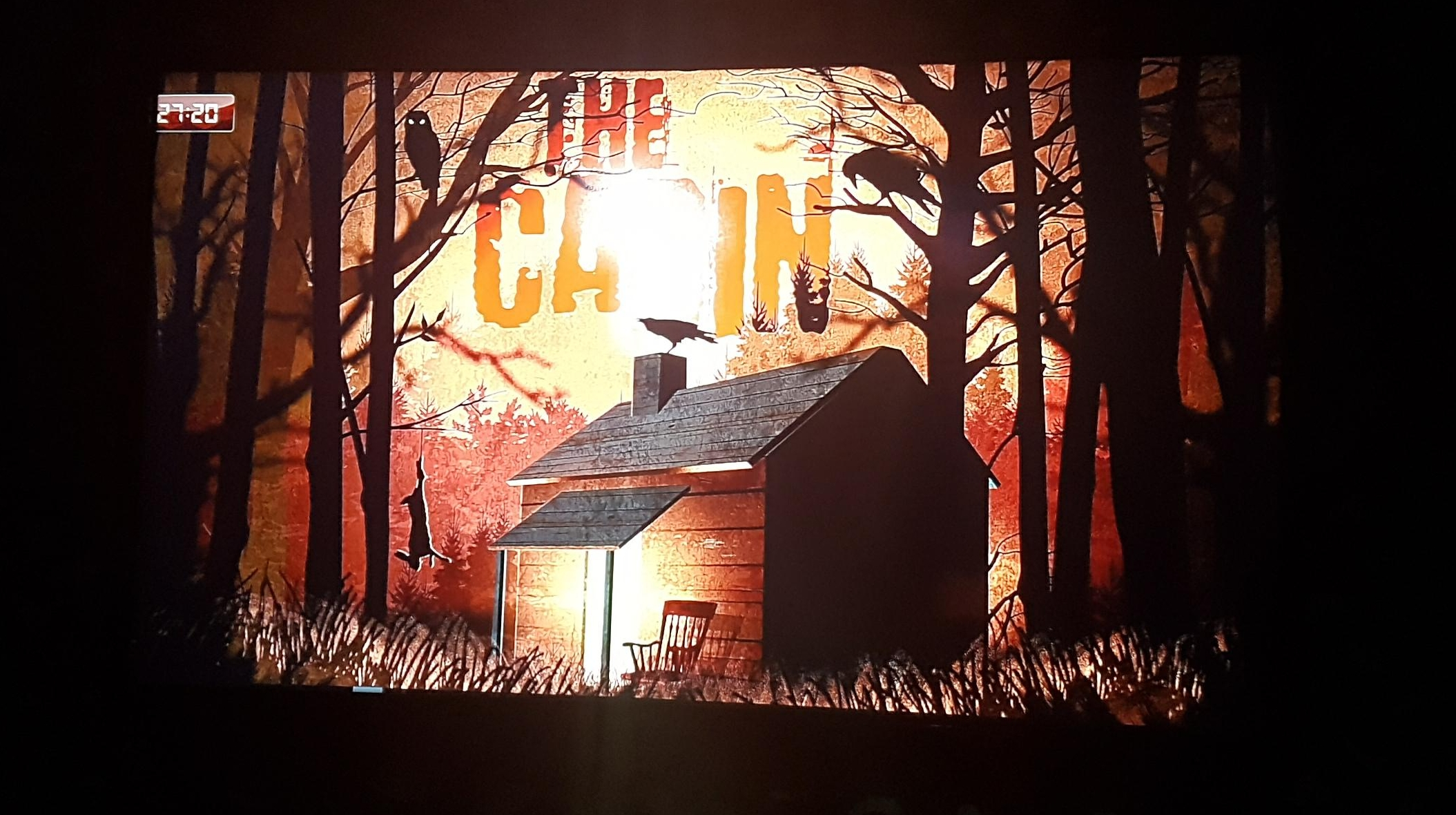 cabin in the woods escape room