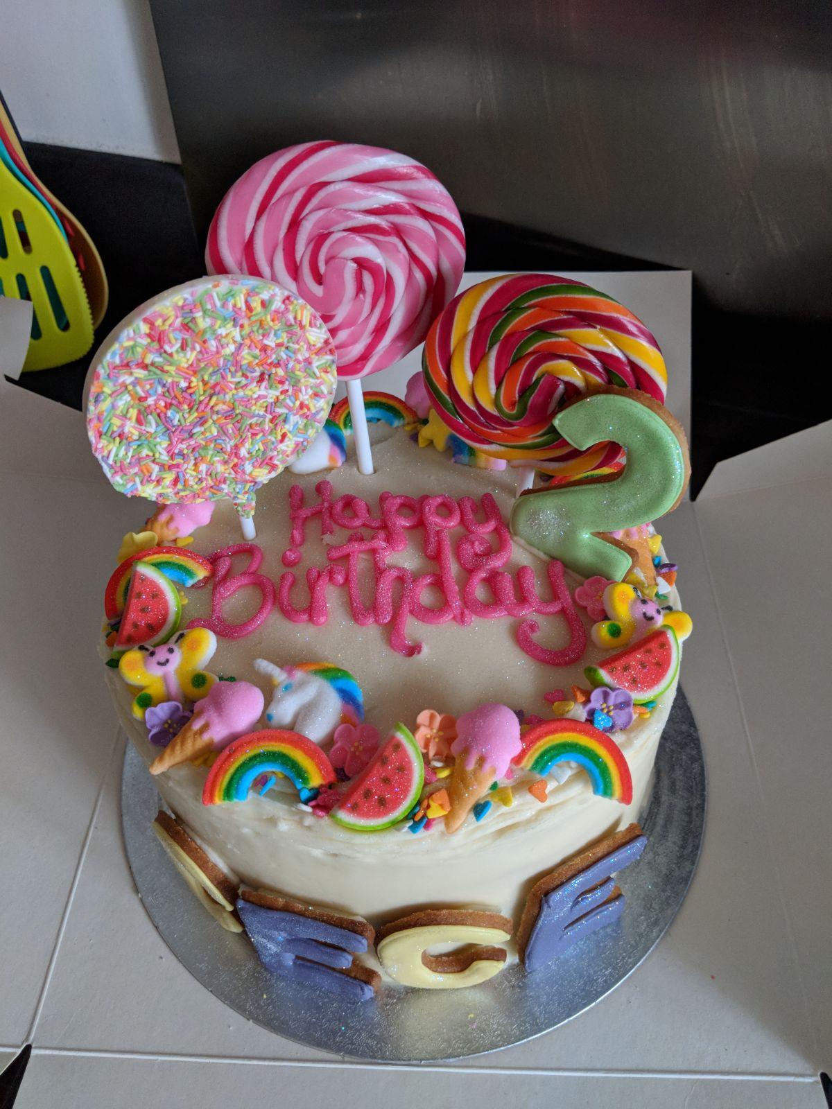 APRIL BIRTHDAY CAKE