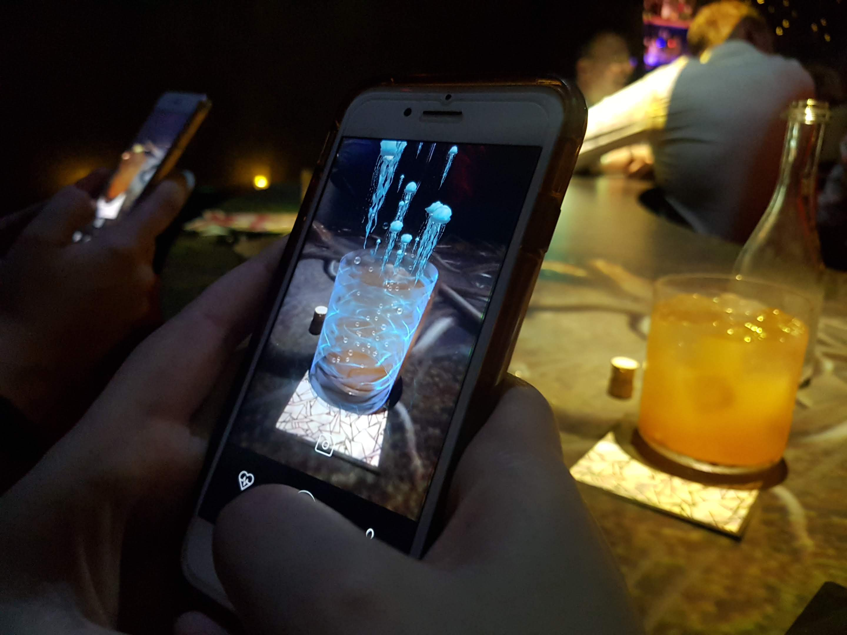augmented reality cocktails