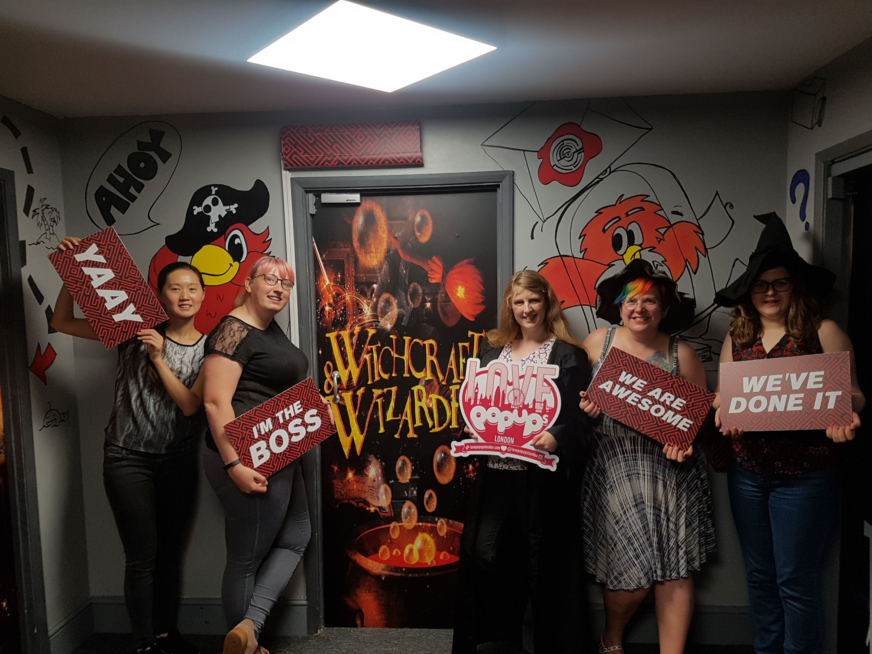 we beat the witchcraft and wizardry escape room