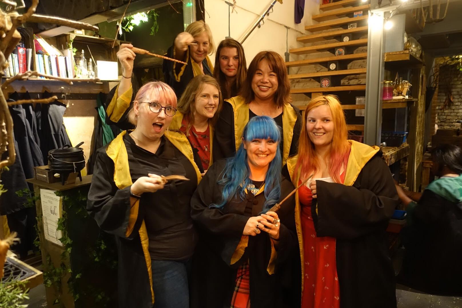us at the cauldron