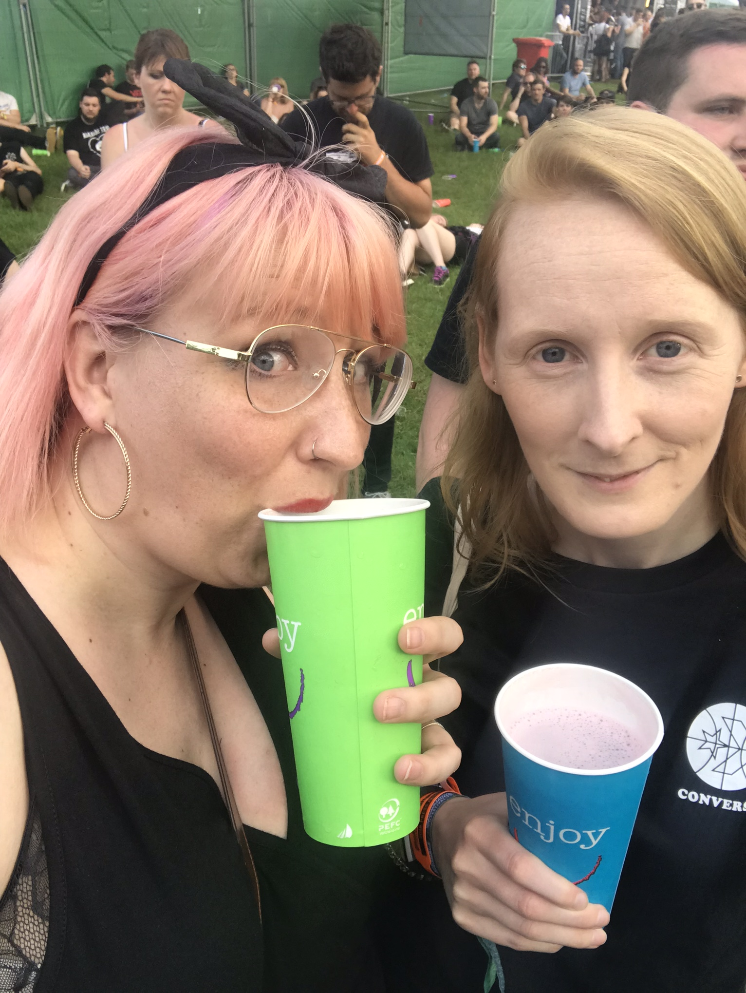 Me and Steph at Slam Dunk 2018
