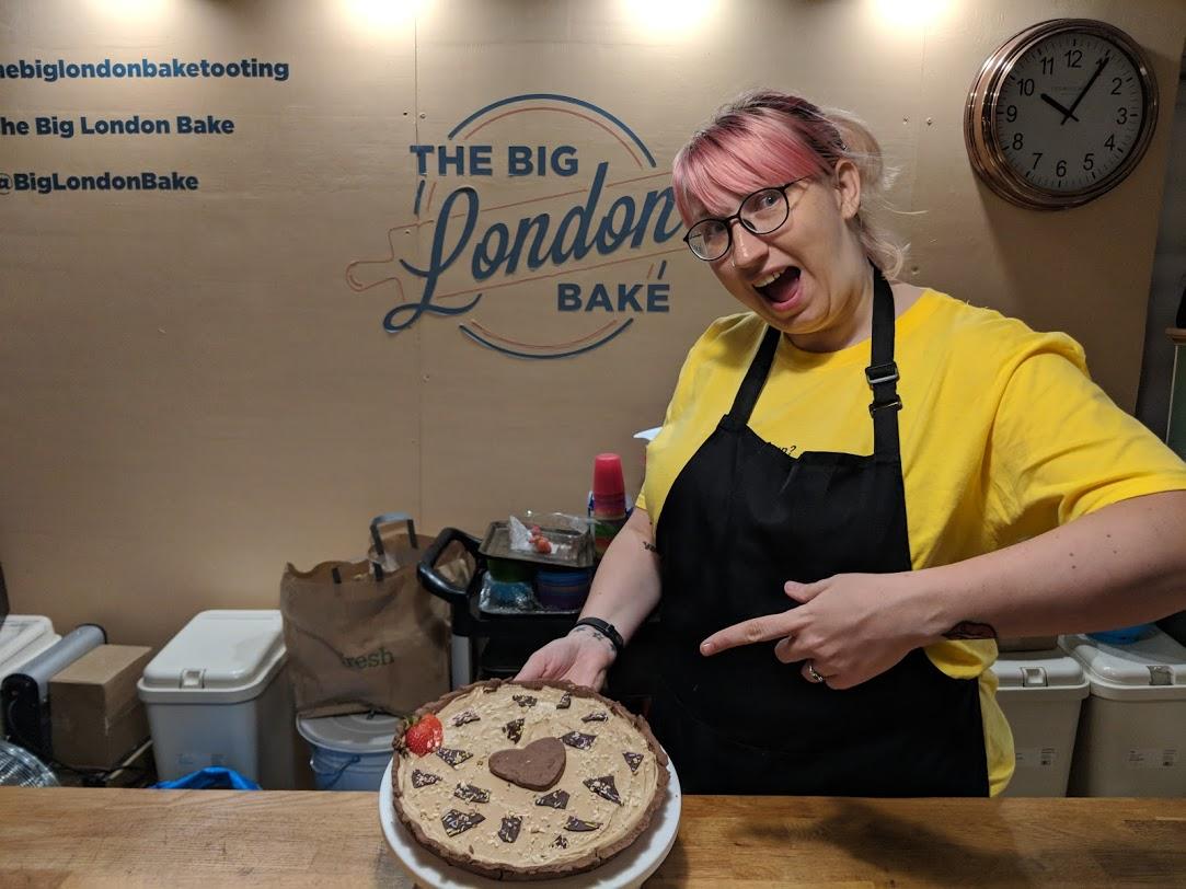 Me At the Big London Bake