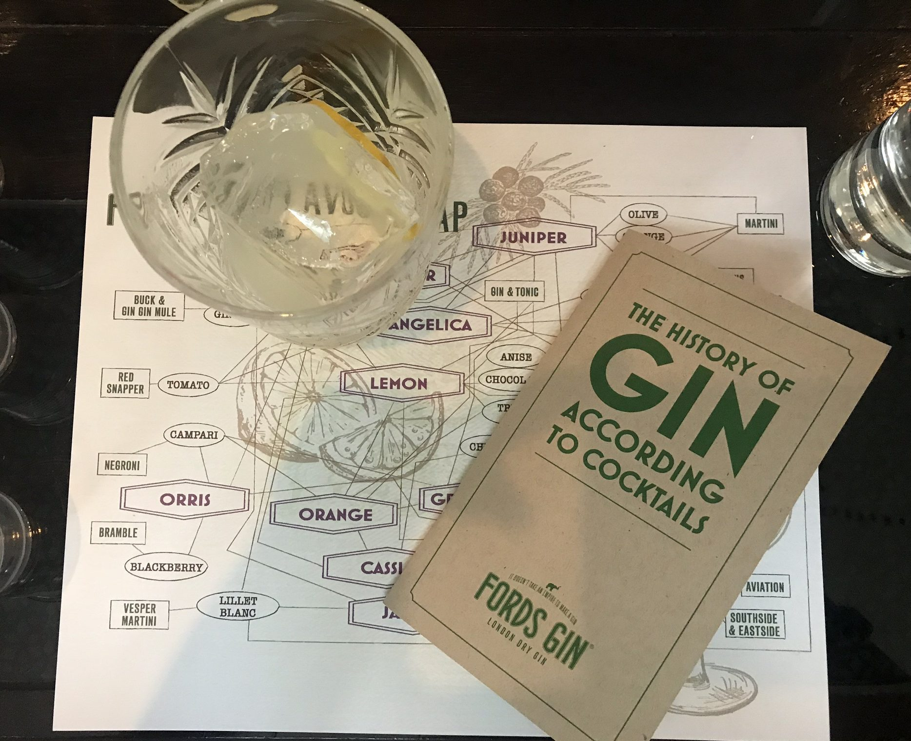 A history of gin through cocktails