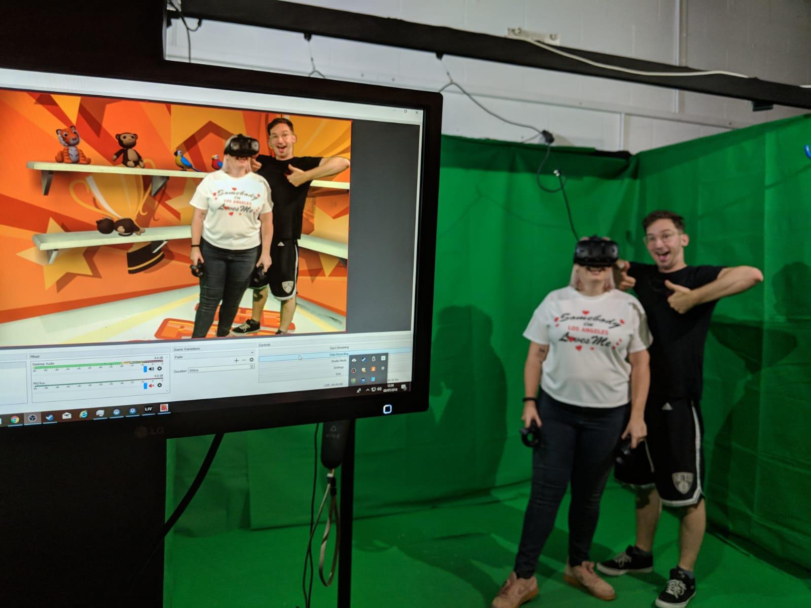 Virtual reality at VR HEre