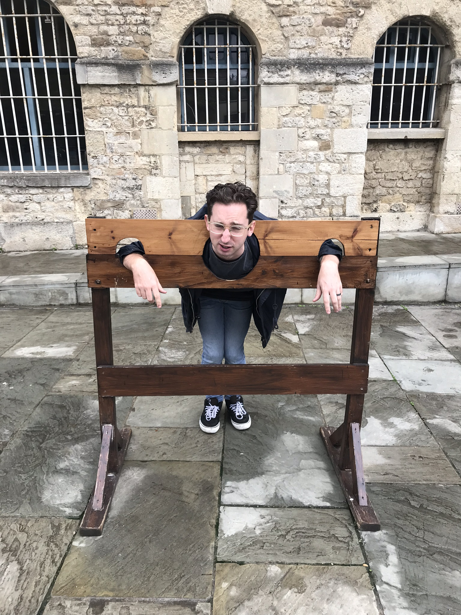 tom in the pillory in august