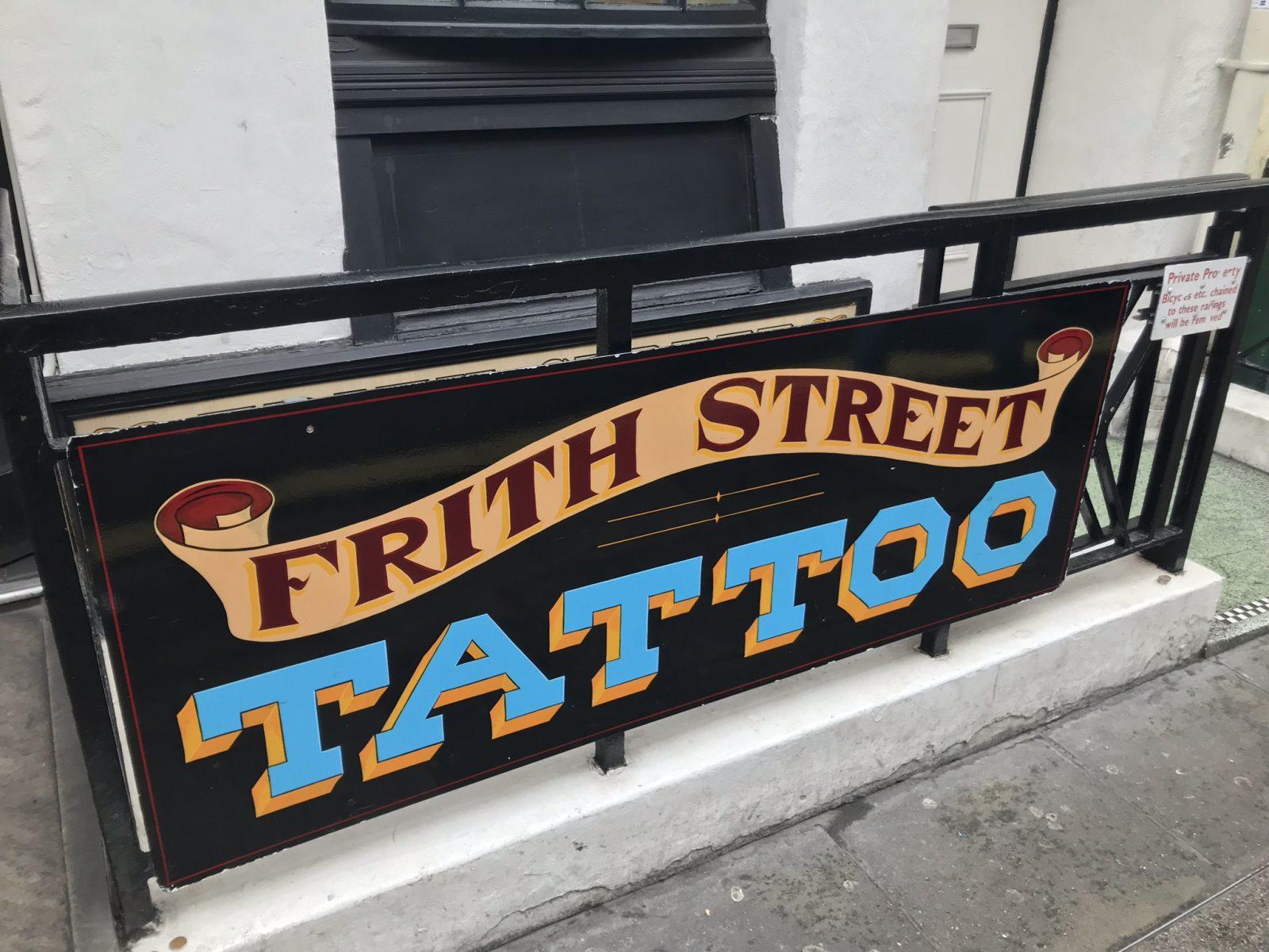 Frith Street Tattoo