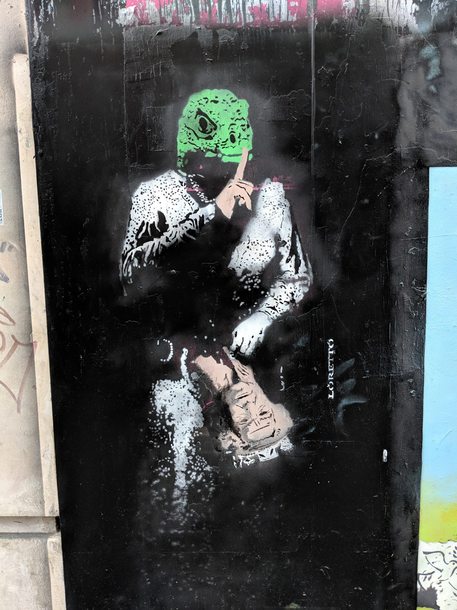 street art in soho