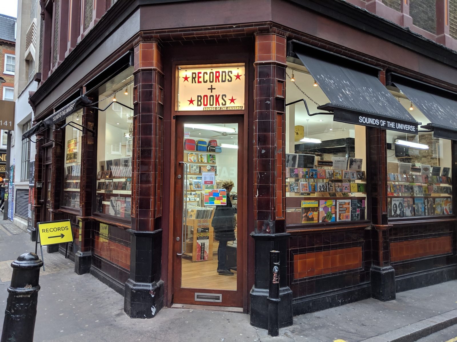 record shop in soho