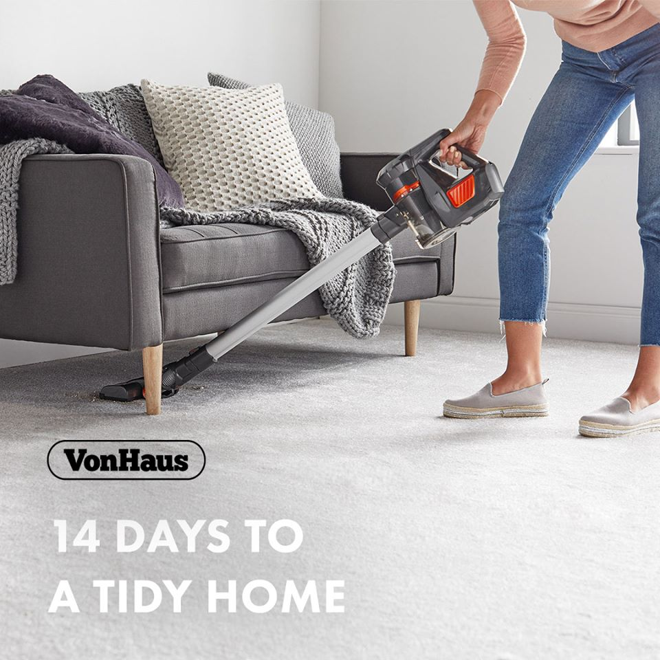 14 days to a tidy home