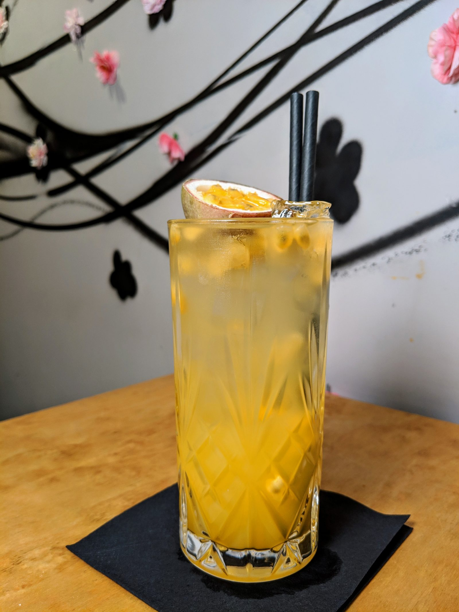 Yen Burger Mocktail