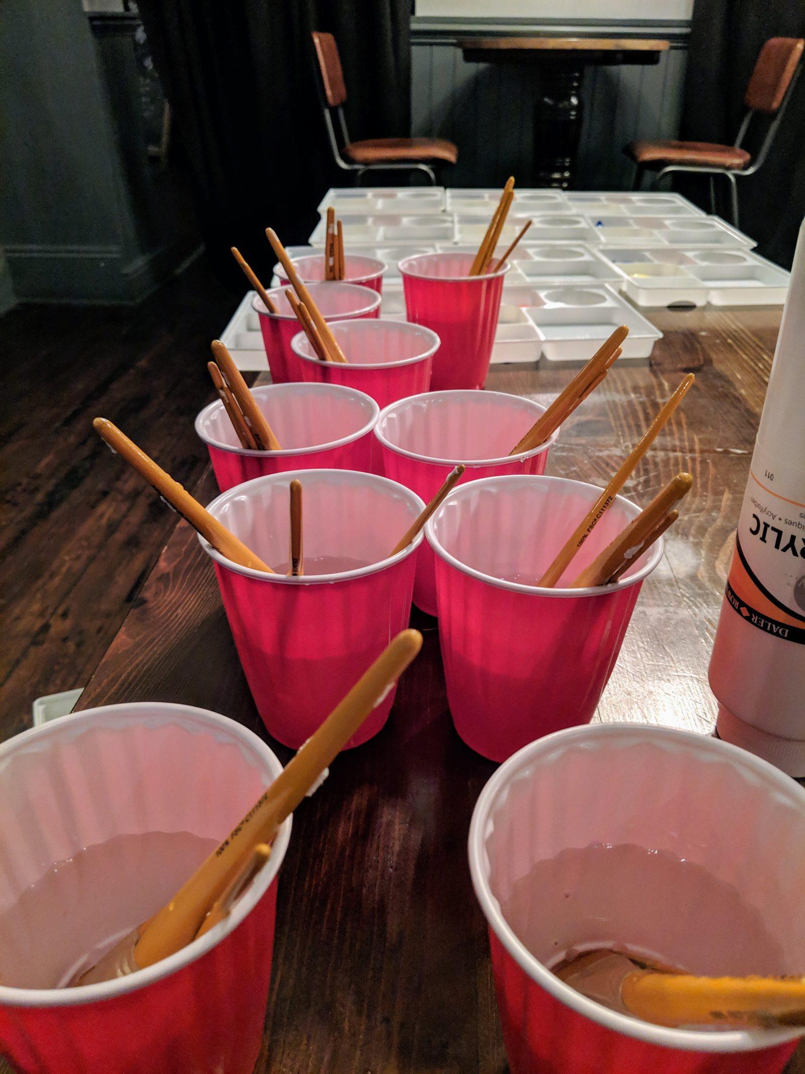 paint pots at paint republic