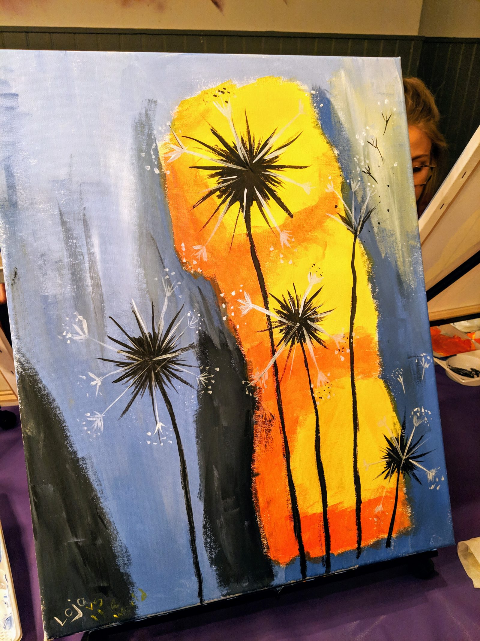 my painting at the paint republic
