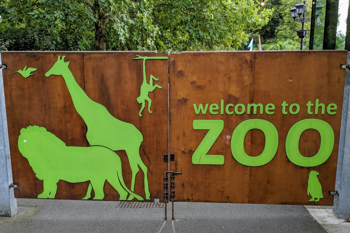 London Zoo Gates