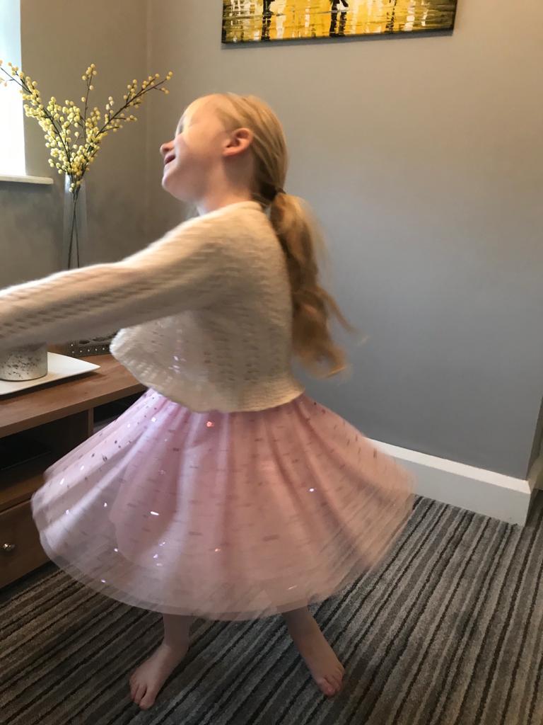 Cece dancing